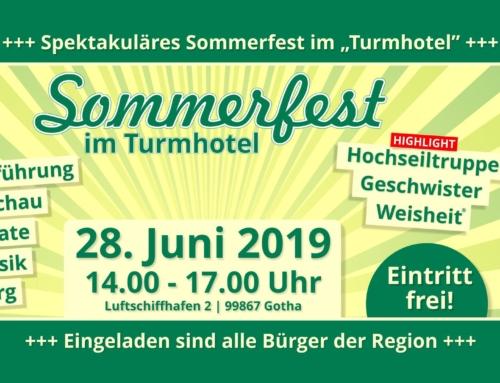 Sommerfest im Turmhotel Gotha
