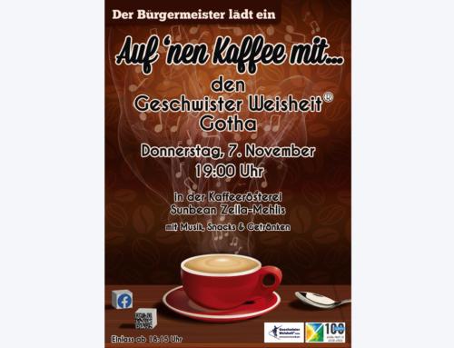"""""""Auf 'nen Kaffee"""" in Zella-Mehlis"""